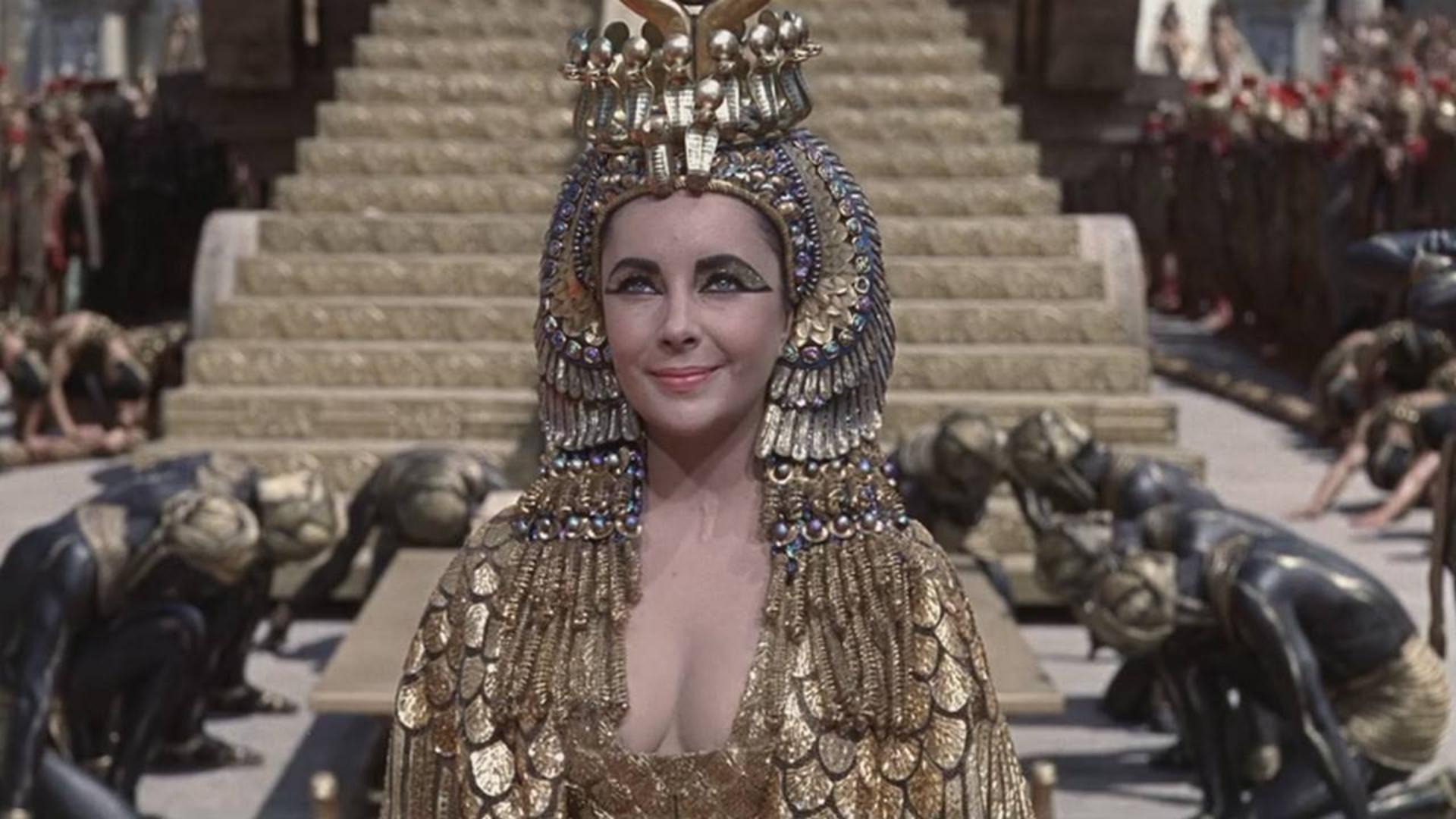 【阿斗】此片当年差点让20世纪福克斯破产《埃及艳后》一部无与伦比的好莱坞大片