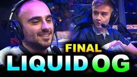 TI9  决赛 LIQUID vs OG