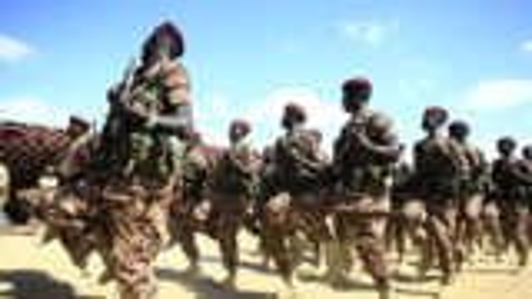 """""""东非解放军""""一战打暴非洲两大霸王,如今装备清一色的中国武器"""