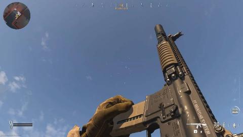 使命召唤16现代战争 vs 使命召唤2007游戏枪声装填对比