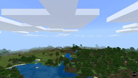 minecraft 1.11.4基岩版 主世界漫游 [O一O game]
