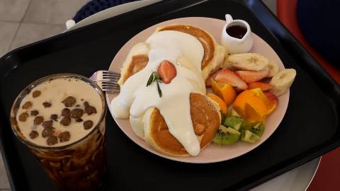 『环球街头美食』韩国篇:蛋奶酥煎饼