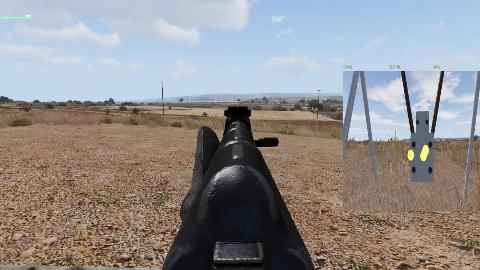 武装突袭3 - AKM步枪实用精度测试