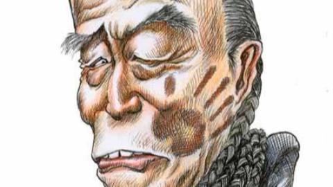 美化粉饰满清王朝的知名作家阎崇年售书被明朝历史爱好者当众掌掴