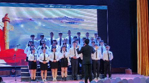 广西民师院计本183班合唱《国家》