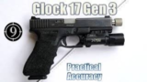 [9-Hole Reviews]格洛克17Gen3近距离精确射击挑战