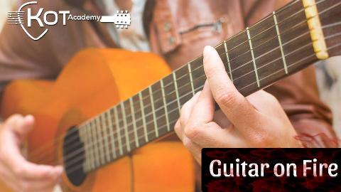 热情奔放的弗拉明戈吉他曲《Guitar on Fire》 Cover by Kot Academy