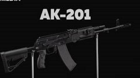 【搬运/已加工字幕】AK-201突击步枪 基本介绍