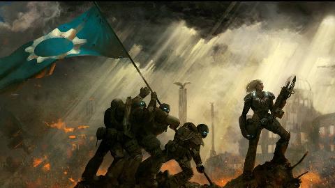 【达奇】一场因能源而带来的无尽浩劫《战争机器》系列详解 人类篇