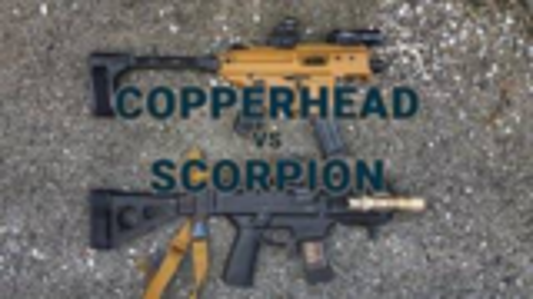 [GUNSCOM]CZ蝎式EVO3冲锋枪 vs 西格绍尔铜头蝮冲锋枪
