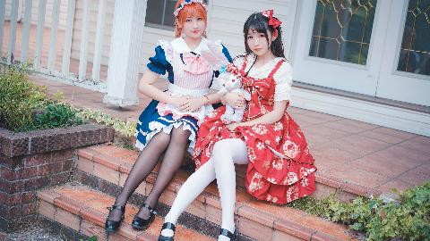 【泉水×星籁】Pink Stick Luv【橘里橘气の大小姐和女仆哟~