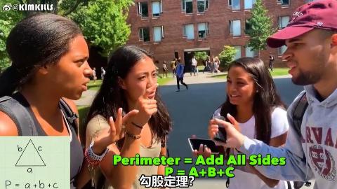 拿五年级的题目靠哈佛大学学生 美国人看了沉默 中国人看了摇头