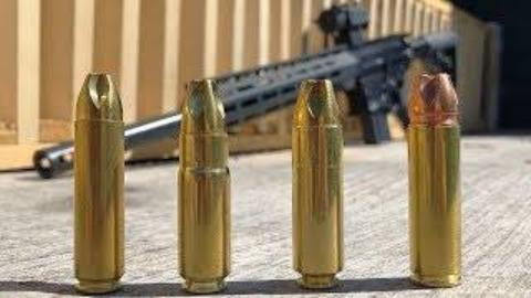 [Kentucky Ballistics]大口径AR-15射击测试