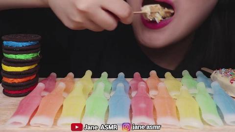 【Jane】 蜡瓶糖果+奥利奥冰淇淋