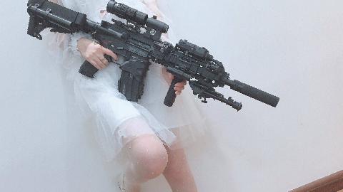 鸢.撸蛋堂HK416水弹枪(空挂回膛版)的再测评