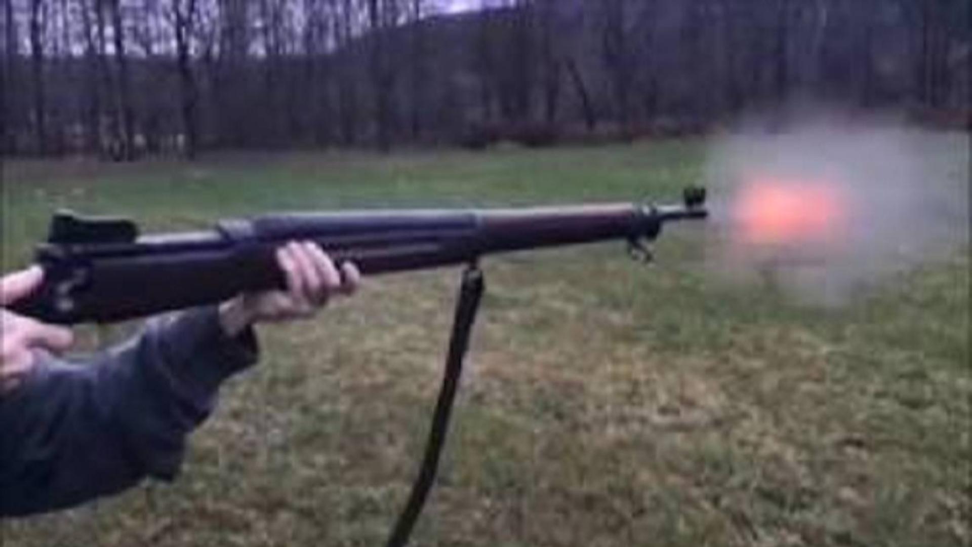 【搬运/没什么字幕可加】恩菲尔德M1917步枪 武器欣赏