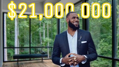 詹姆斯作为世界上最有钱的运动员之一,克利夫兰这套2100万美金的房子只能算普通!