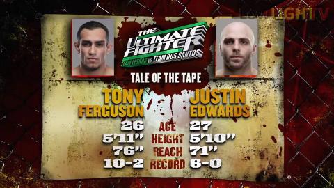 UFC:夜魔 托尼-弗格森 VS 贾斯汀-爱德华兹