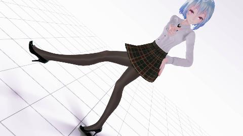 【MMD/制服系列】那边的死肥宅,对就是你,来一起跳舞吧!