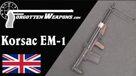 【被遗忘的武器/双语】科萨克EM-1--英国人仿制了一把FG42