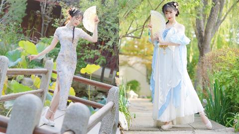 【紫颜】 旗袍 & 仙女 你要选那个?