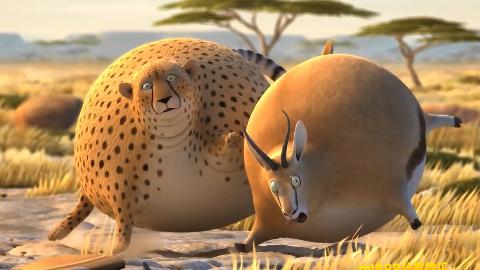 动物全都变成大胖子搞笑动画合集