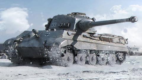 【讲堂445期】结合最强装甲防护和最出色的火炮,德国研发出超级重坦:虎王坦克