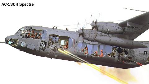 SMIT 空中武士 AC-130空中炮艇(2018)水山汉化