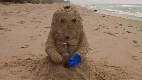 沙子成了精不仅会走路,还谈起了恋爱,只不过恋爱对象有点特殊