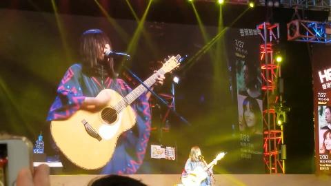 酸欠少女 さユり Sayuri live at AgcerHK