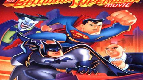 【DC动画】The Batman Superman Movie: 最佳搭档 (1997) CUT