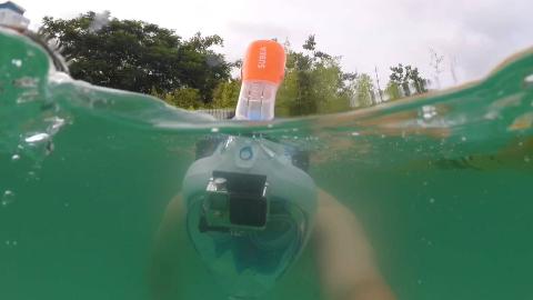 【猴山安利节】迪卡侬潜水面罩