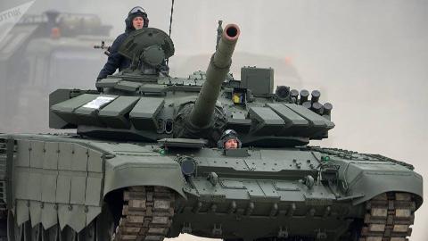 俄军备战国际军事比赛-2019 T-72B3再次参赛