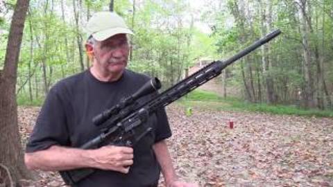 [hickok45]再玩.224 AR15步枪
