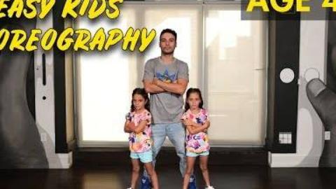 简易儿童舞蹈编排-(4岁以上的嘻哈舞蹈教程)|MihranTV
