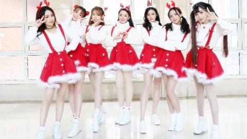 【紫嘉儿☞翻唱】爱你超甜圣诞节舞蹈版MV 王心凌怀旧