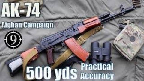 [9-Hole Reviews]使用AK74步枪铁质瞄具挑战射击500码目标