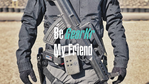 Be GearKr / 无极战术总裁如何搭配战术腰封?