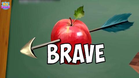 我的世界〈怪物学校〉勇气值大测试 这个苹果有毒么?