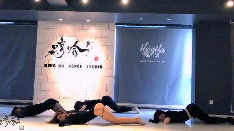 Paradise Lost-佳仁【哼哈舞社】性感女团爵士舞课堂拍摄