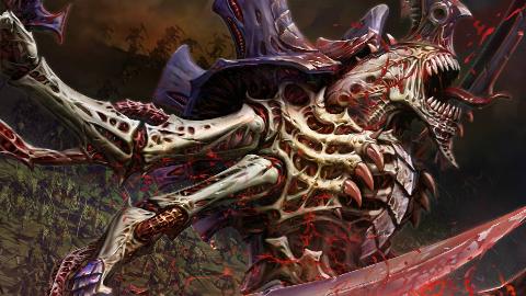 【战锤大讲堂】泰伦虫群进化的巅峰?群虫之王科普