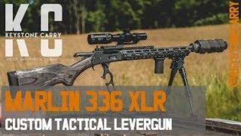 马林336XLR战术定制版杠杆步枪