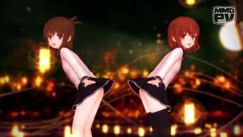 【MMD】萝莉——Platinum Disco