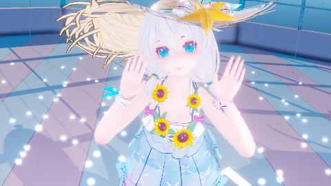 【泳装德莉莎】书记舞【崩坏3MMD】咦?好好的你脸红什么?【一米水深】