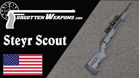 【被遗忘的武器/双语】斯太尔向导步枪--现代版的拓荒步枪