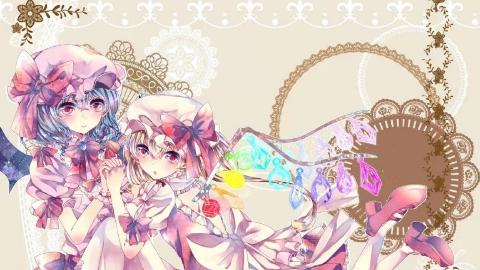 【东方MMD】Romantic Love【芙兰&蕾米】