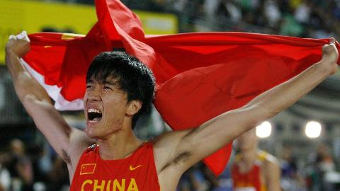 飞人刘翔跨栏生涯、48次世界大赛,36次冠军,6次亚军,3次季军