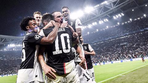2019-2020赛季欧冠小组赛第3轮 尤文图斯vs莫斯科火车头 全场集锦