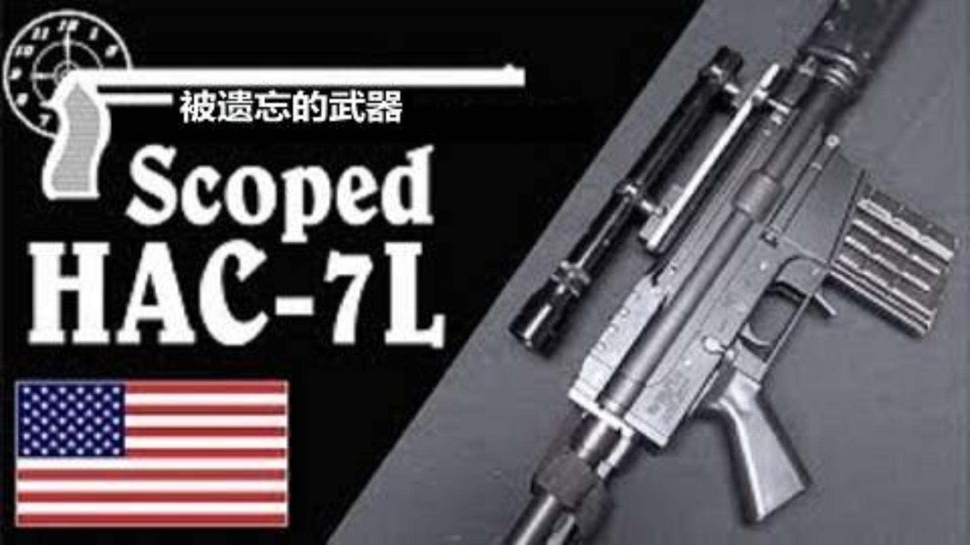 【搬运/已加工字幕】霍洛韦HAC-7L步枪 基本介绍