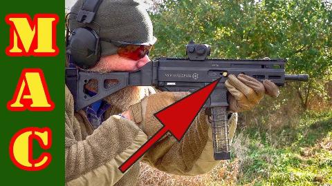 [MAC]斯特里博格SP9A1冲锋枪故障测试